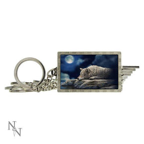 Spirit Earth 3d Quiet Reflection Keyring