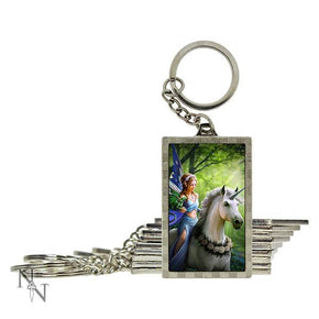 Spirit Earth 3d Realm of Enchantment Keyring