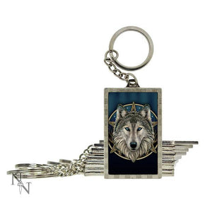 Spirit Earth 3d Wild One Keyring