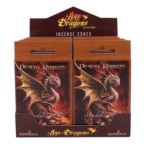 Spirit Earth Age of Dragons Desert Dragon Incense Cones
