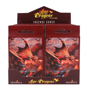 Spirit Earth Age of Dragons Fire Dragon Incense Cones