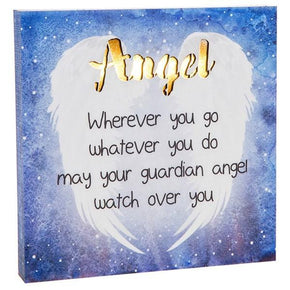 Spirit Earth Angel - LED Plaque