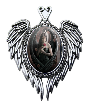 Spirit Earth Angel Rose Cameo