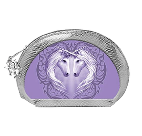 Spirit Earth Anne Stokes 3D Make up Bag - Unicorn Heart
