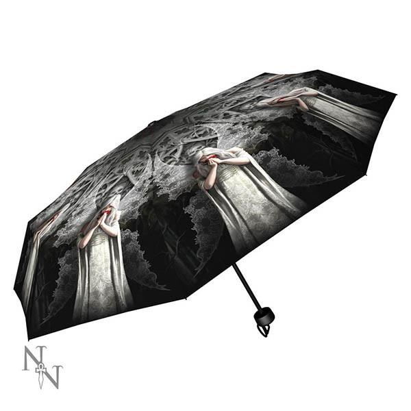 Spirit Earth Anne Stokes Anne Stokes - Only Love Remains Umbrella