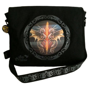 Spirit Earth Anne Stokes Dragon Dancer Messenger Bag