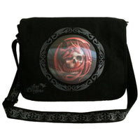 Spirit Earth Anne Stokes Dragon Skull Messenger Bag