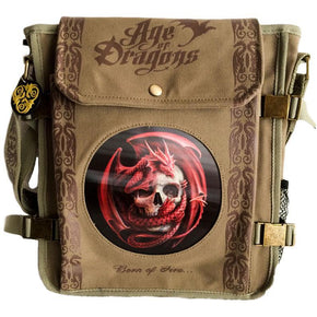 Spirit Earth Anne Stokes Dragon Skull Side Bag