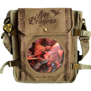 Spirit Earth Anne Stokes Fire Dragon Side Bag