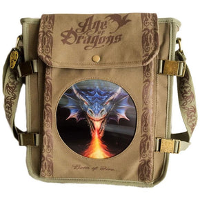 Spirit Earth Anne Stokes Firebreather Side Bag