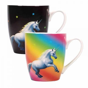 Spirit Earth Anne Stokes Heat Changing Unicorn Mug
