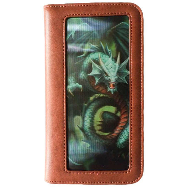 Spirit Earth Anne Stokes Jade Dragon Phone Wallet