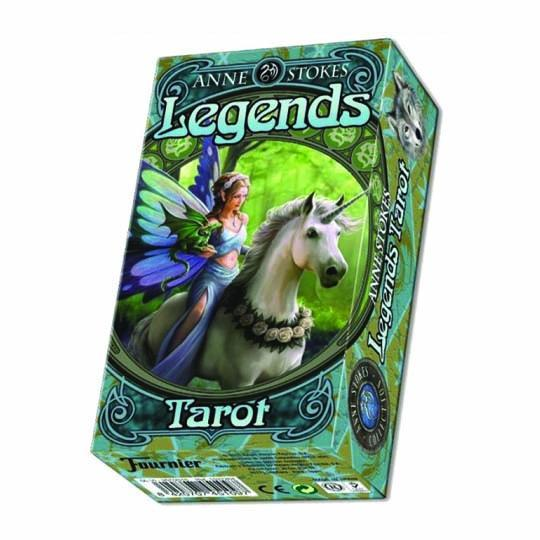 Spirit Earth Anne Stokes Legends Tarot Cards