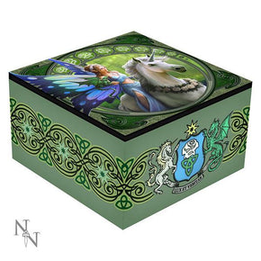 "Spirit Earth Anne Stokes ""Realm of Enchantment"" Mirror Box"