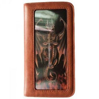 Spirit Earth Anne Stokes Tribal Dragon Phone Wallet