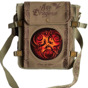 Spirit Earth Anne Stokes Tribal Dragon Side Bag