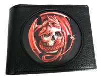 Spirit Earth Anne Stokes Wallet - Dragon Skull