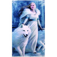 Spirit Earth Anne Stokes Winter Guardians 3D Bookmark