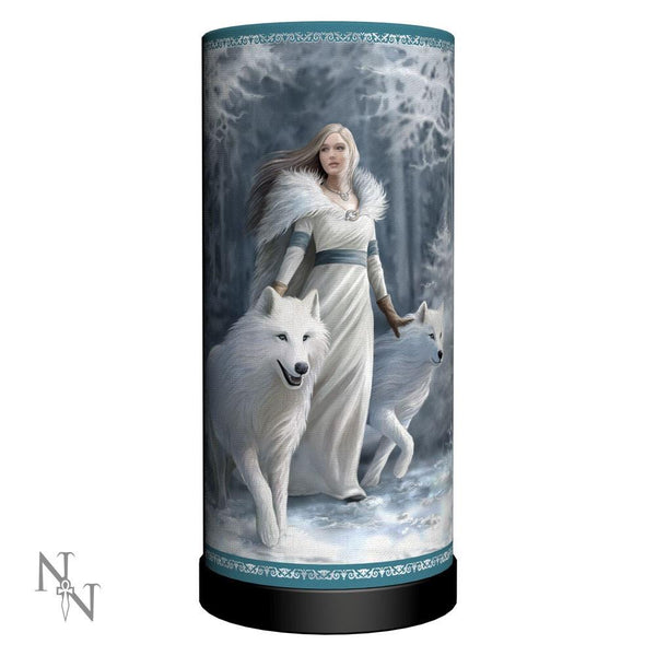 Spirit Earth Anne Stokes - Winter Guardians Lamp