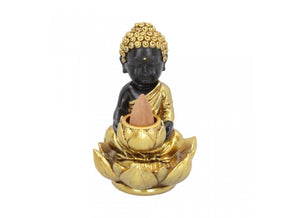 Spirit Earth Baby Buddha Backflow Incense Burner