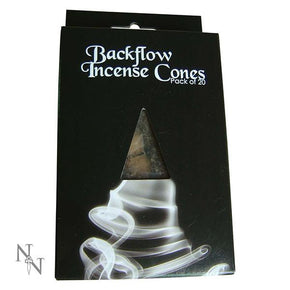 Spirit Earth Backflow Incense Cones - Jasmine