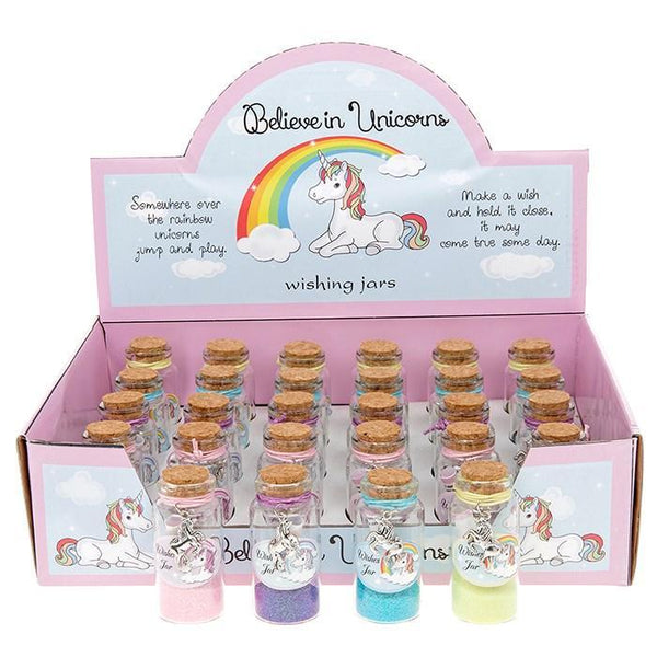 Spirit Earth Believe in Unicorn Wish Jar