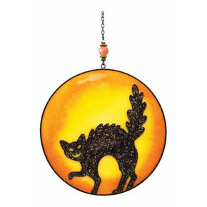 Spirit Earth Black Cat Light Catcher