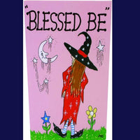 Spirit Earth Blessed Be Greeting Card