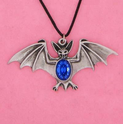 Spirit Earth Blue Bat Pendant