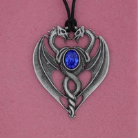 Spirit Earth Blue Dragon Pendant