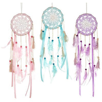 Spirit Earth Boho Feather Dreamcatcher