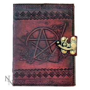 Spirit Earth Broom Stick Leather Journal