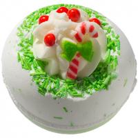 Spirit Earth Candy Cane Lane Bath Bomb