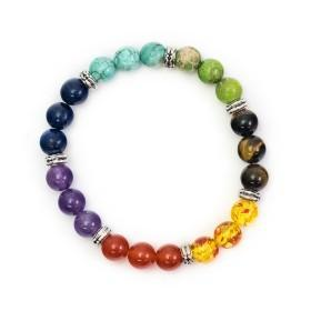 Spirit Earth Chakra Bracelet - Mixed Beads