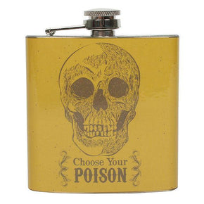 "Spirit Earth ""Choose your Poison"" Hip Flask"