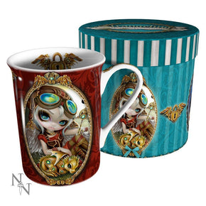 Spirit Earth Clockwork Dragonling Mug