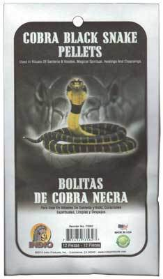 Spirit Earth Cobra Black Snake Pellets