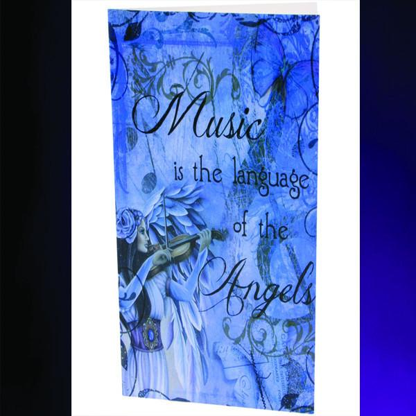 Spirit Earth Divine Melody Greeting Card