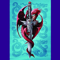 Spirit Earth Dragon & Dagger Greeting Card