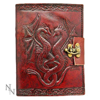 Spirit Earth Dragon Leather Journal - Lock