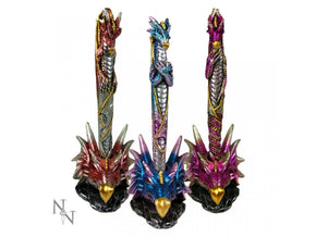 Spirit Earth Dragon Pen & Holder