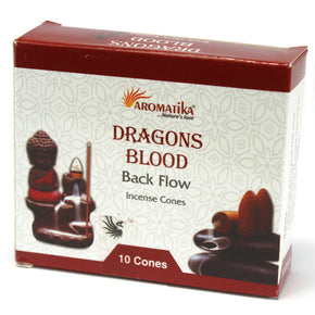 Spirit Earth Dragons Blood Backflow Incense Cones