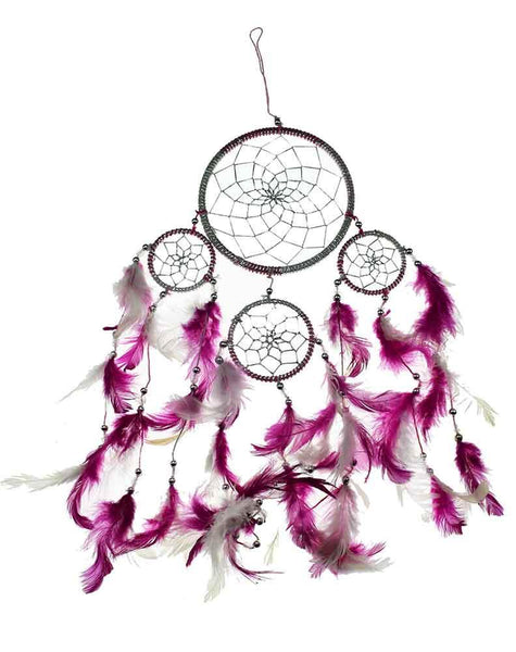 Spirit Earth Dream Catcher Pink 12cm