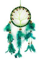Spirit Earth Dream Catcher Tree Green 12cm