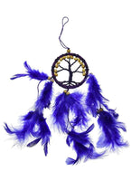 Spirit Earth Dream Catcher Tree of Life Purple 6cm