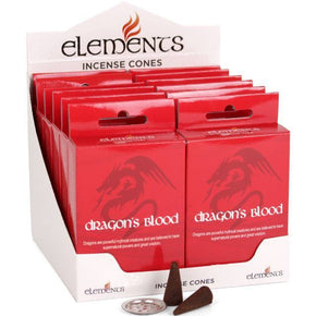 Spirit Earth Elements Dragons Blood Incense Cones