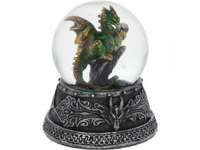 Spirit Earth Enchanted Emerald Snowglobe