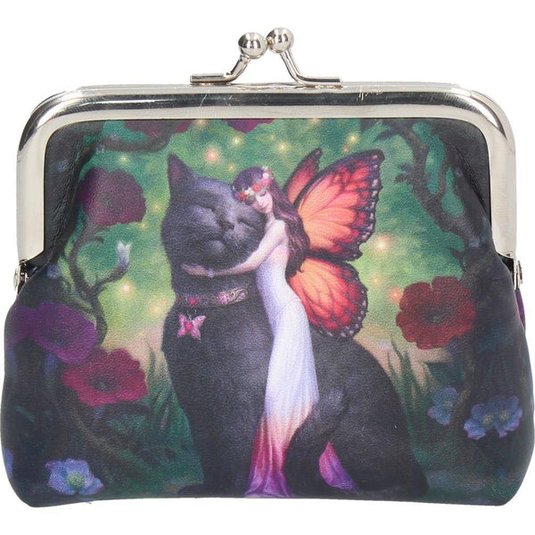 Spirit Earth Fairy & Cat Coin Purse