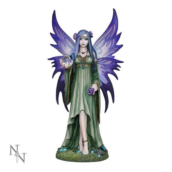 "Spirit Earth Figure Anne Stokes ""Mystic Aura"" 23cm"