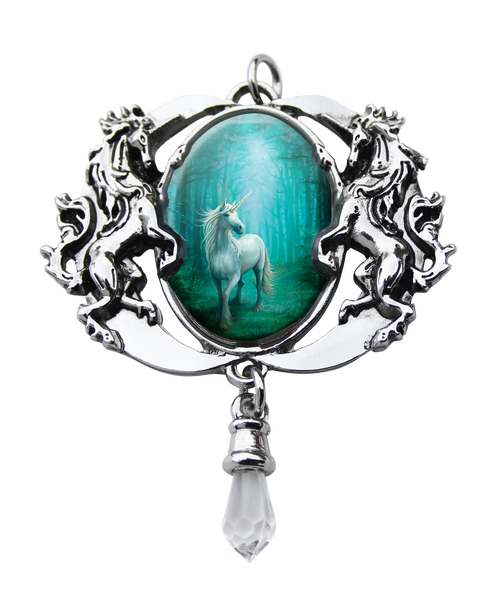 Spirit Earth Forest Unicorn Cameo